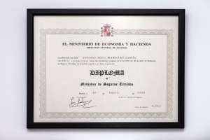 Diploma A.Jesús Rodríguez
