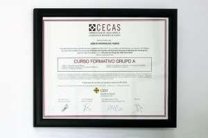 Diploma Jesús Rodríguez